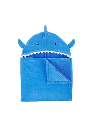 Carters Köpekbalığı Tamlı Erkek Çocuk Havlu Mavi
